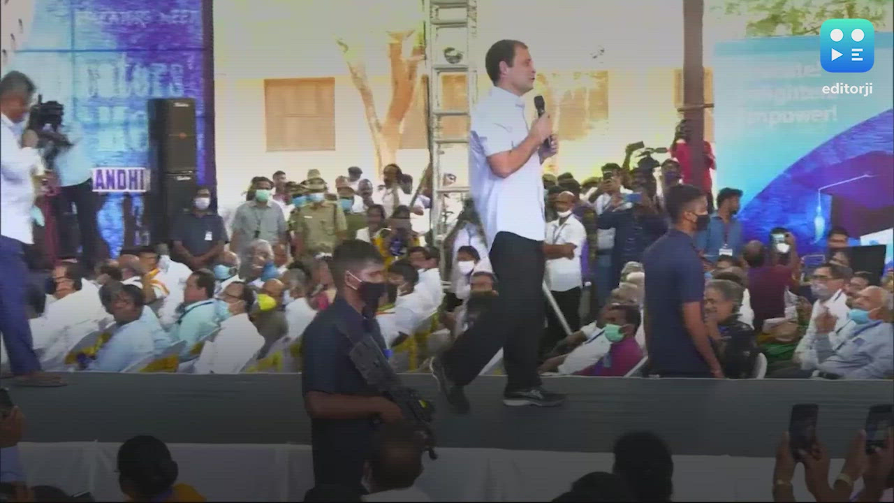 Education policy weapon to communalise: Rahul Gandhi slams Centre