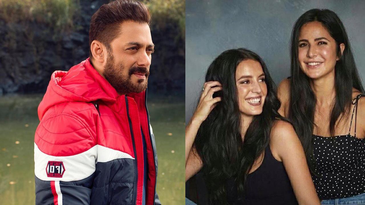 Salman Khan turns cheerleader for Katrina's sister Isabelle