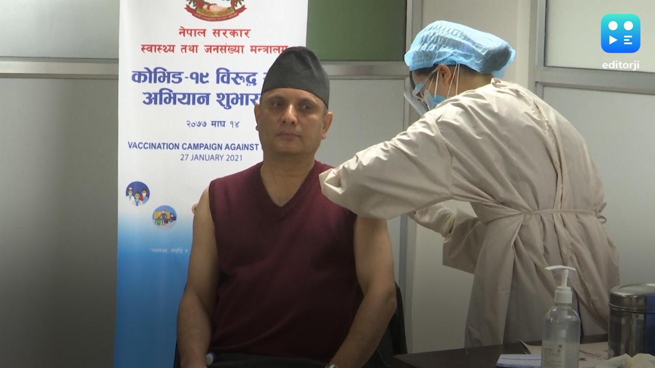 Nepal begins Covid-19 vaccination drive, Oli thanks India