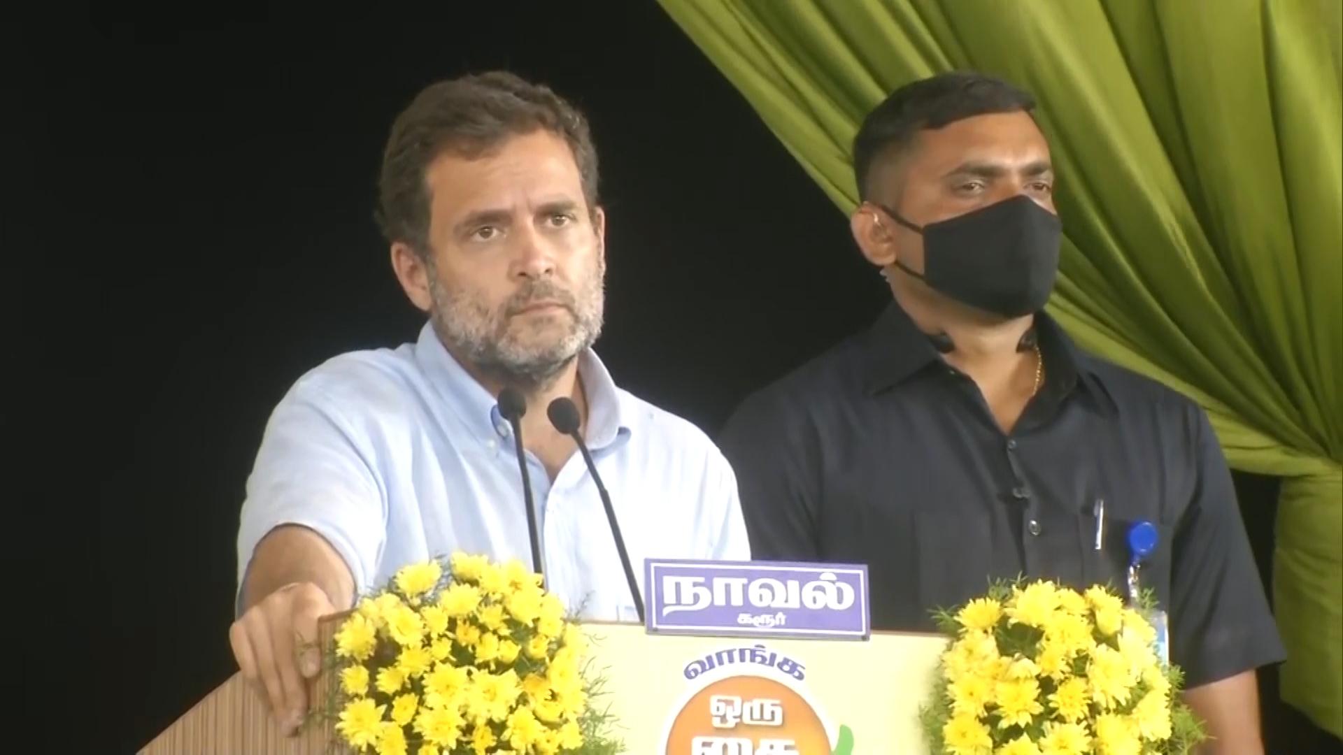 Rahul Gandhi in Tamil Nadu: I am not corrupt, Narendra Modi cant control me