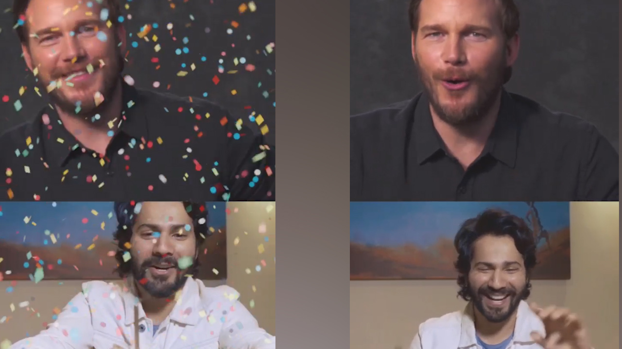 Varun Dhawan celebrates Chris Pratts birthday virtually, Hollywood star says shukriya