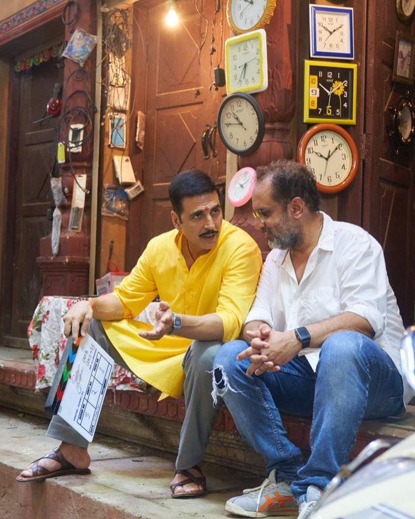 Akshay Kumar shares first photo from Raksha Bandhan set on Day 1 of shoot