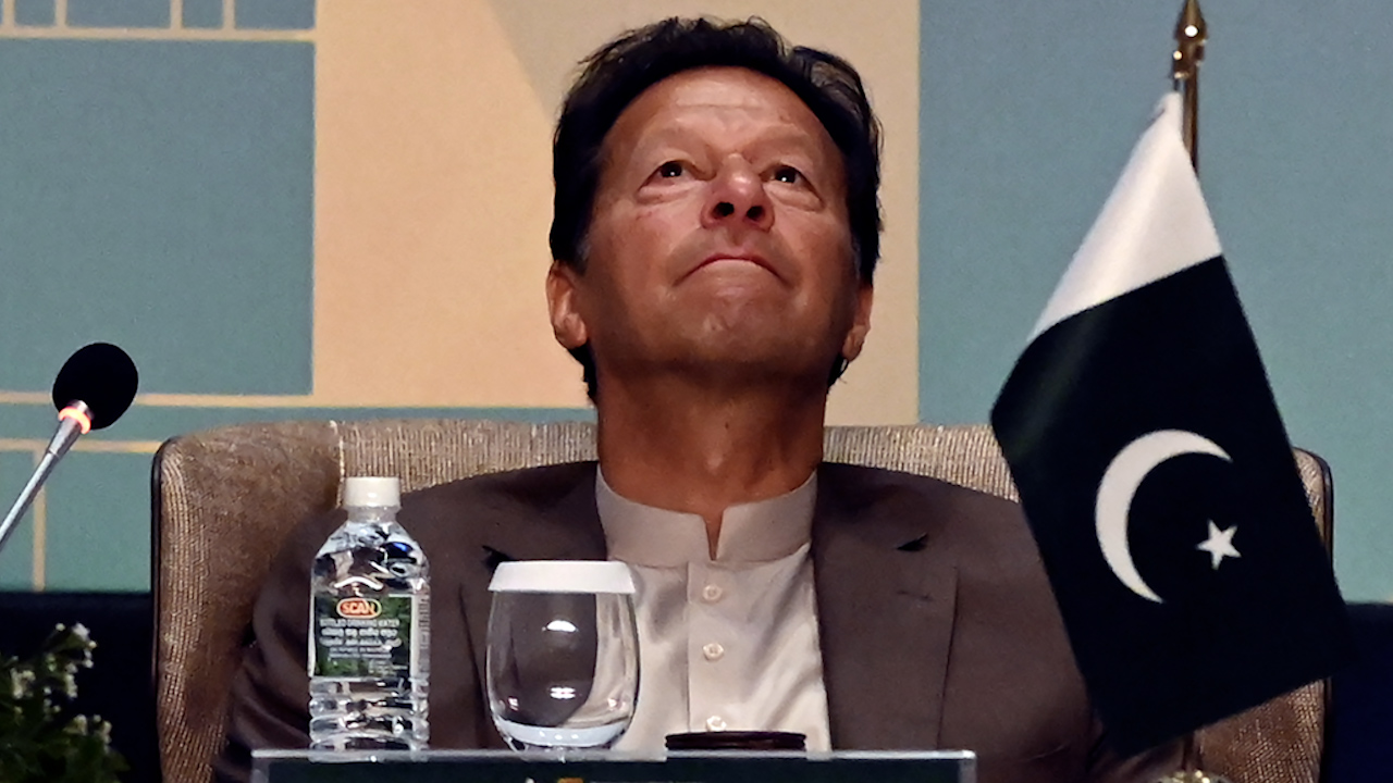 Imran Khan blames women wearing 'small clothes' for sexual violence