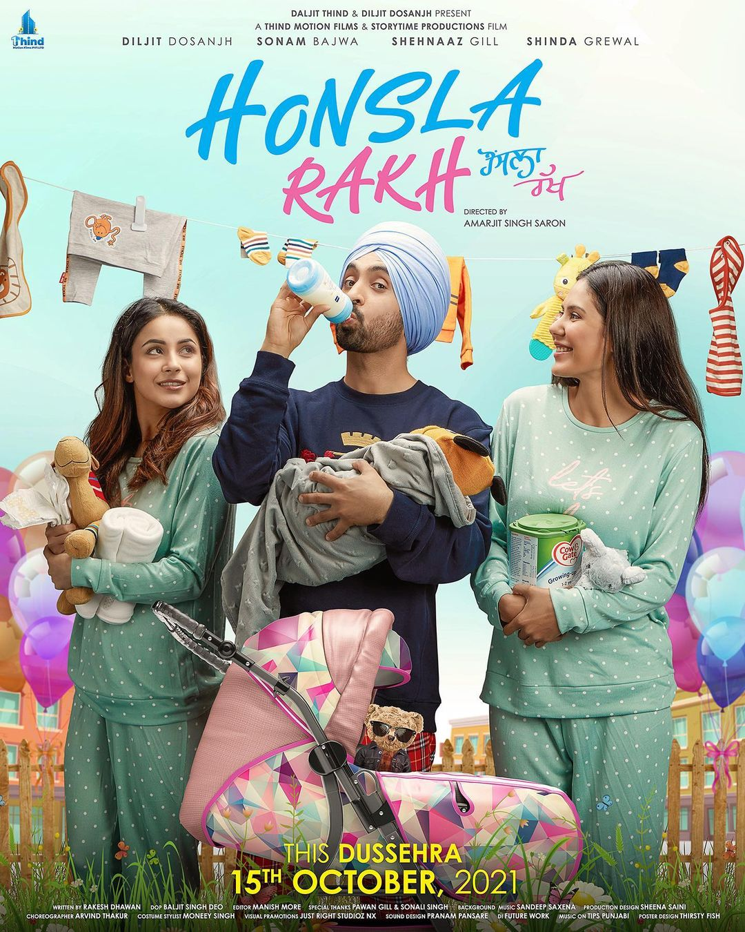 Fans shower love for Shehnaaz Gill as Honsla Rakh poster revealed after Sidharth Shuklas death